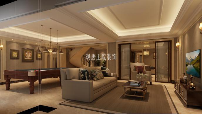 积:310㎡   案例风格: 欧式 设计说明: 本案为泰州市高港区的联排别墅